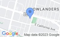 Map of Sunnyvale CA