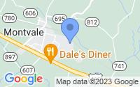 Map of Montvale VA