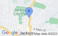Map of Jackson MO