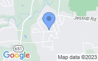 Map of Richmond VA