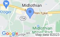 Map of Midlothian VA