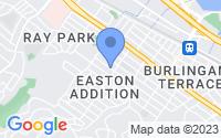 Map of Burlingame CA