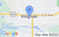 Map of Kingman KS