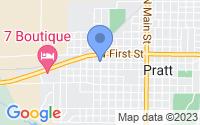 Map of Pratt KS