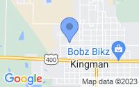 Map of Kingman KS