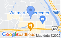 Map of Wichita KS