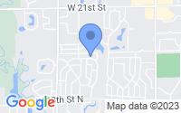 Map of Wichita KS