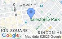 Map of San Francisco CA