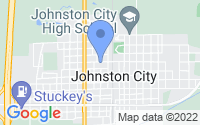 Map of Johnston City IL