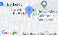 Map of Berkeley CA