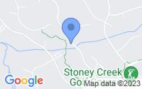 Map of Nellysford VA