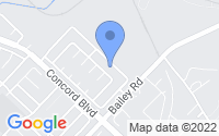 Map of Concord CA