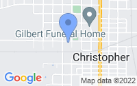 Map of Christopher IL
