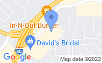 Map of Pinole CA