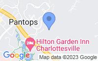 Map of Charlottesville VA