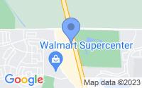 Map of Stockton CA