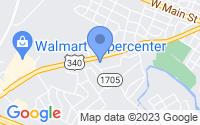 Map of Waynesboro VA