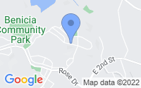 Map of Benicia CA