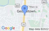Map of Georgetown KY
