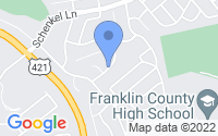 Map of Frankfort KY