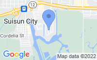 Map of Suisun City CA