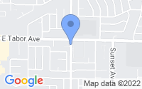 Map of Fairfield CA