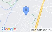 Map of Fredericksburg VA