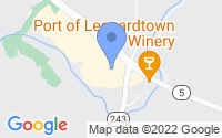 Map of Leonardtown MD