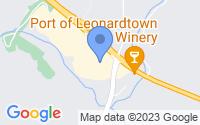Map of Leonardtown MD