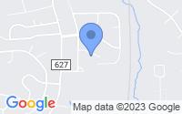 Map of Falmouth VA