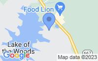 Map of Locust Grove VA