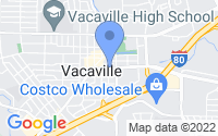 Map of Vacaville CA