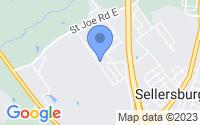 Map of Sellersburg IN