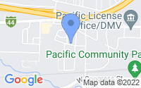 Map of Pacific MO