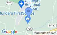 Map of Elkwood VA