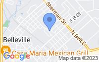 Map of Belleville IL