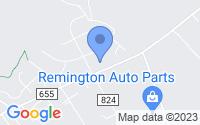 Map of Remington VA