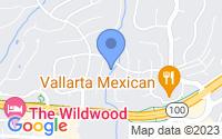 Map of Wildwood MO