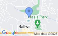 Map of Ballwin MO
