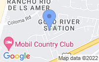 Map of Gold River CA