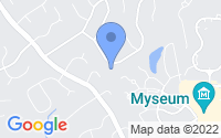 Map of Chesterfield MO