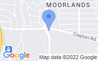 Map of Richmond Heights MO