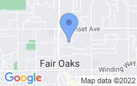 Map of Fair Oaks CA