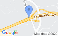Map of El Dorado Hills CA