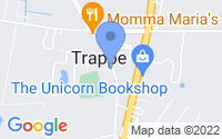 Map of Trappe MD
