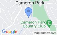 Map of Cameron Park CA