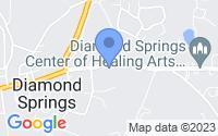 Map of Diamond Springs CA