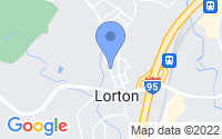 Map of Lorton VA