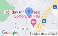 Map of Lorton VA