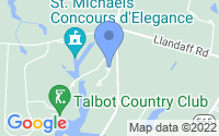 Map of Easton MD